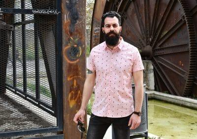 camisa noize rosa 4845100