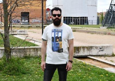 camiseta modern life