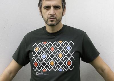 camiseta-mosaic-verde