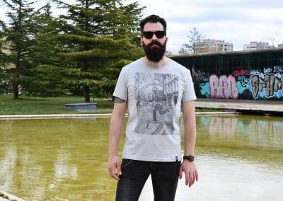 camiseta rat run