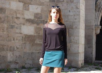camiseta-zergatik-dul-negra-falda-zergatik-bondo