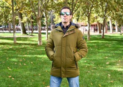 abrigo no excess 631021 olive