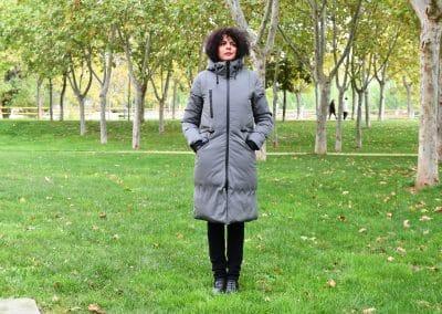 abrigo zergatik ponky grey