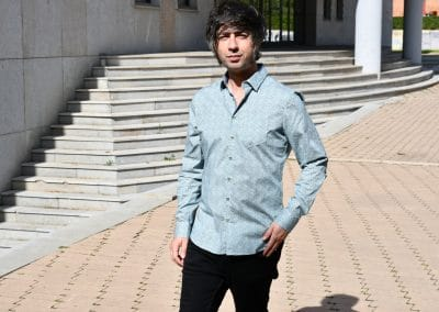 camisa no excess 410702 mint