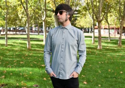 camisa no excess 450905 mint