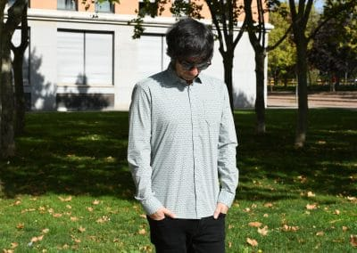 camisa no excess 450962 mint