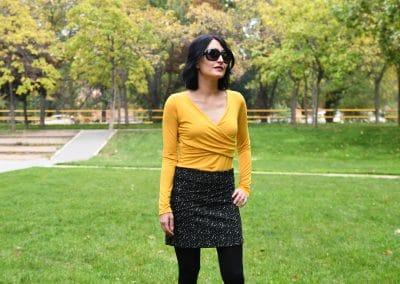 camiseta zergatik amarilla prim