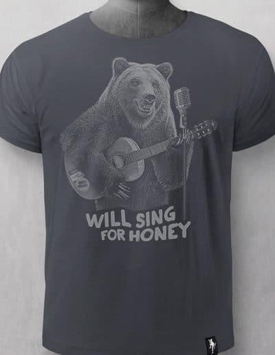 Camiseta Busker Bear