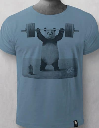 Camiseta Panda Power