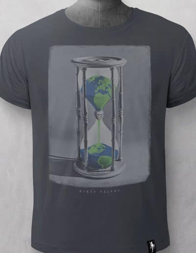 Camiseta Hourglass Earth