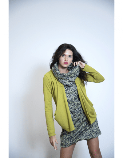 cardigan yugen green