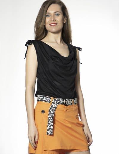 falda pantalón loki naranja