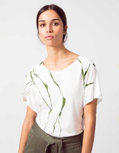 Camiseta kara blanco