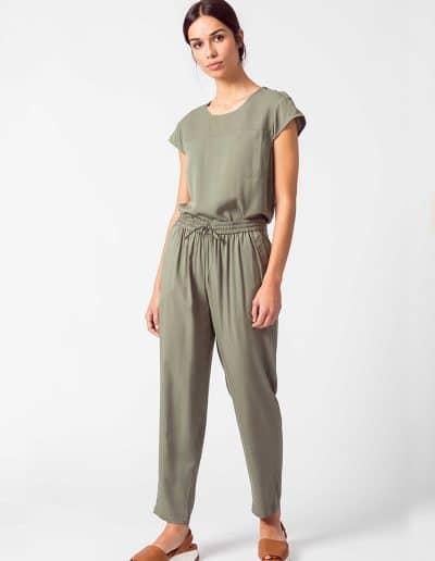 pantalón albia verde