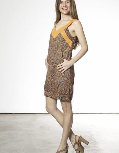 vestido mamu naranja
